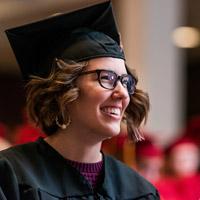 close up of a graduate