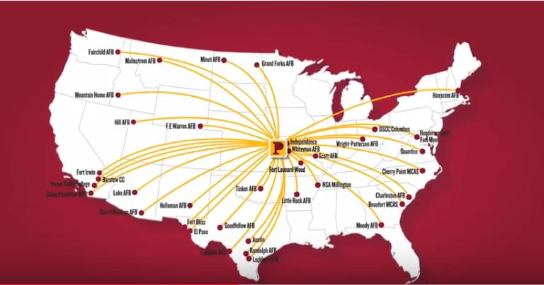 Campus Center map